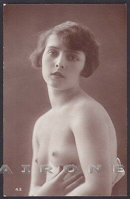 EROTISMO RISQUE NUDE - FRENCH NUDE WOMAN 04 EROTIC - REAL PHOTO Postcard