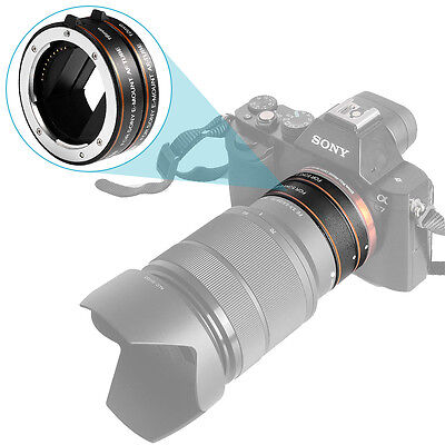 The 2nd Generation Metal Automatic AF Auto-focus Macro Extension Tube Set
