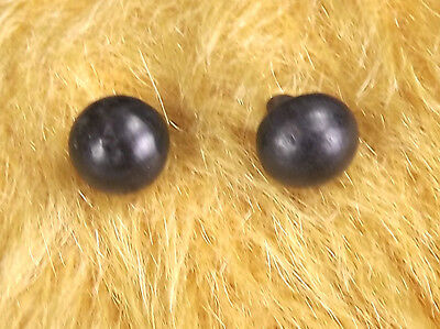 Antique Pair of Victorian Boot Buttons - Suitable For Teddy Bear Eyes - Useful!