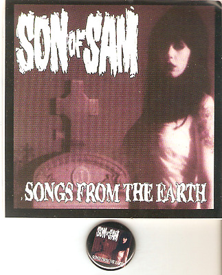 Son of Sam T-Shirt sticker pin size M Samhain Misfits AFI Danzig NEW official