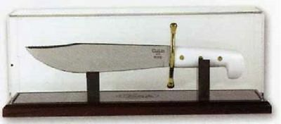 CASE XX KNIVES USA MADE CHERRY BOWIE KNIFE MAGNETIC ENCLOSED KNIFE DISPLAY 50055