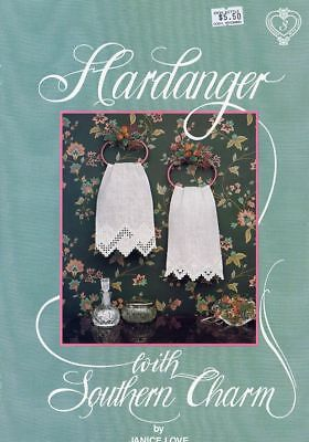 Hardanger With Southern Charm #3 Borders by Janice Love SIGNED NEW Pattern