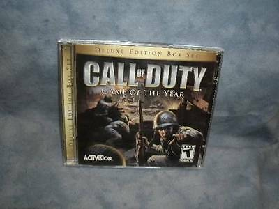 Call of Duty- Game of The Year- Deluxe Edition  (PC, 2005)