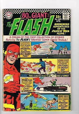 Flash # 160 The Amazing Race Against Time !  grade 3.0 scarce book !!