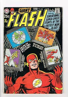 Flash # 196 The Mightiest Punch of All Time !  grade 4.5 scarce book !!