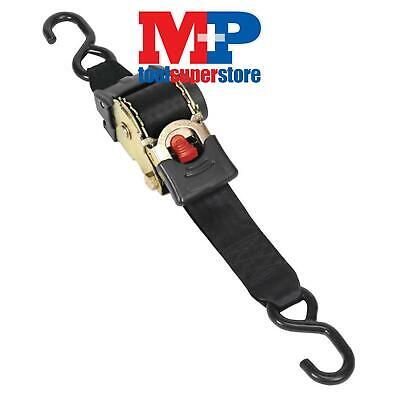 Sealey Atd50301 Auto Retractable Ratchet Tie Down Strap 50Mm X 3 Metre