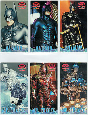 Batman And Robin Movie Widescreen Profiles Single Cards
