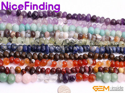 6x8mm Natural Freeform Chips Nugget Gemstone Spacer Beads For Jewelry Making 15""