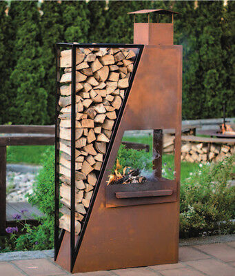 feuerkorb feuerschale grill kamin garten feuerstelle feuer korb. Black Bedroom Furniture Sets. Home Design Ideas