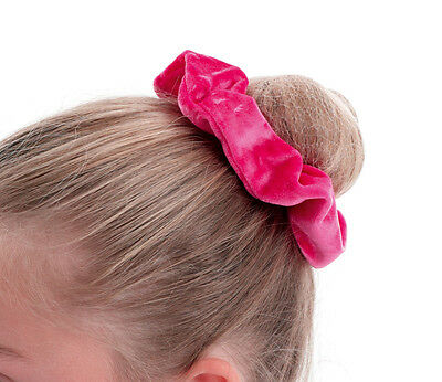 Girls Ballet Dance Gymnastics Velour Scrunchie By Katz Dancewear All Colours