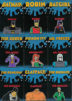 The Adventures Of Batman And Robin: Pop Up Card Singles