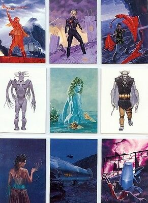 Alien World of Wayne Barlowe Full 90 Card Trading Card Base Set ~ New