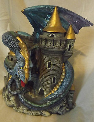 "Dragon Statue/S.Snider/Fantasy/Collectible/Medieval/Mythical/Magic/8"" x 10"""