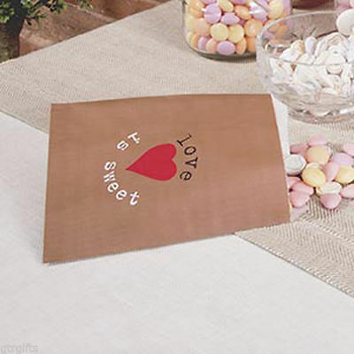 Just My Type - Sweetie Bags Pack of 25 - Retro Shabby Chic Styling - X671390