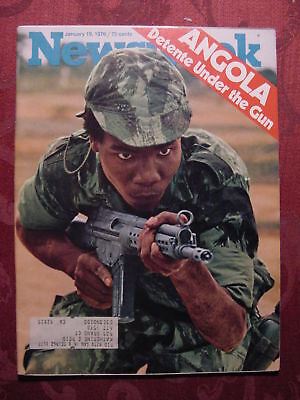 NEWSWEEK magazine January 19 1976 DÉTENTE ANGOLA +++