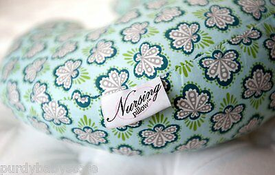 Nursing Pillow Firefly Fabric Breastfeeding Baby Infant Functional Comfortable