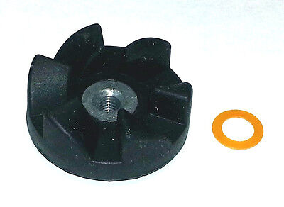 NutriBullet Black Rubber Gear for NBR-12 Part of Extractor or Milling Blade