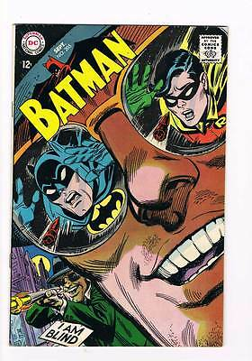 Batman # 205  I am Blind ! grade 8.0 movie super scarce hot book !!