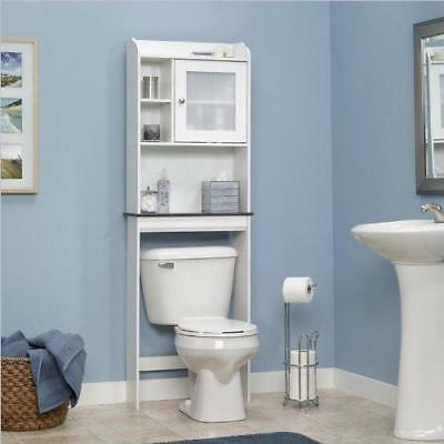 Bathroom Over the Toilet Shelves Cabinet Bath Shelf Storage ...