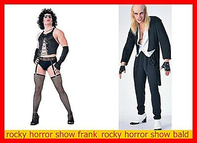 ROCKY HORROR PICTURE SHOW FRANK N FURTER OR RIFF RAFF COSTUME STAND/ now have XL