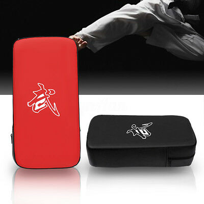 Muay MMA Boxing Thai Foot Target Focus Kick Punching Shield Pad Absorb Shock