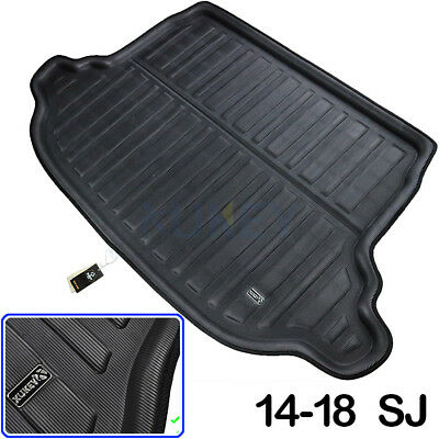 Car Rear Trunk Tray Cargo Liner Mat Boot Floor Pad For Subaru Forester 2014-2018