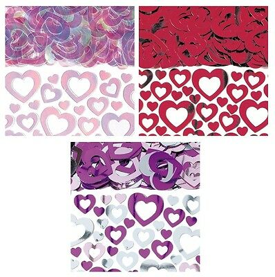 Prismatic Shimmer HEARTS CONFETTI  (14g) {Amscan} (Valentines/Celebration/Party)