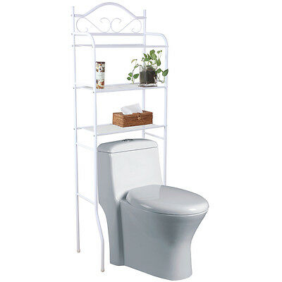 ROCOCO - Metal Over Toilet Storage Shelves - White YRIISH350