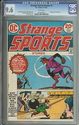 Strange Sports #1 Cgc 9.6 White Pages