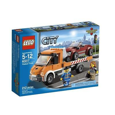 BRAND NEW LEGO CITY 60017 FLATBED TRUCK TRUSTED U.S. SELLER FREE SHIPPING