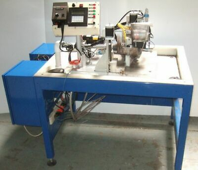 Wafer Grinder and Cutter With 3 Stepper Motors for XYZ Grinding Machine