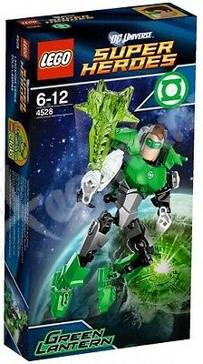 New Retired Lego Super Heroes Green Lantern # 4528 Factory Sealed Free Ship !