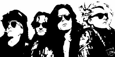 The Sisters Of Mercy Pop Art Bild Painting Handgemalt
