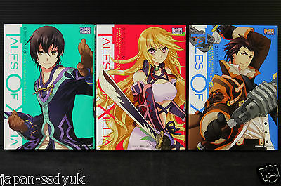 JAPAN manga: Tales of Xillia Comic Anthology 1~3 set