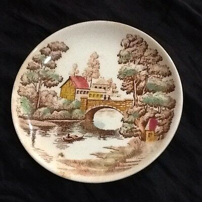 Nice Vintage Plate From Nasco Holiday Japan