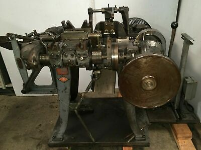 NILSON Model #0-F Wire Forming Four Slide Machine 1/16 Wire - 5T