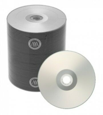 500 Spin-X Diamond Certified 48x CD-R 80min 700MB Silver Inkjet Hub Printable