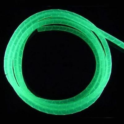 UV Green Spiral Wrap - Keep Your PC Cables Tidy
