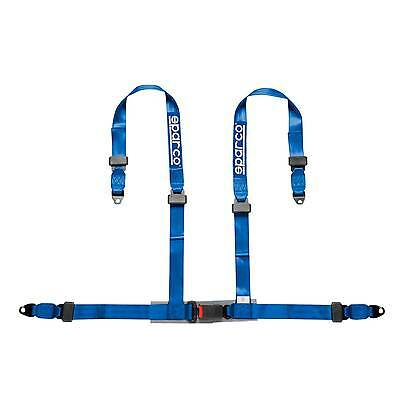 Sparco 4 Point Driver Blue Clubman Bolt In ECE Approved Seat Harness - 4604BV