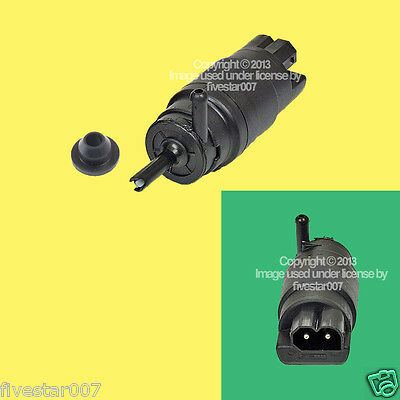 Front windshield wiper Washer Pump Motor + Grommet Rubber Seal for BMW 1988-1997