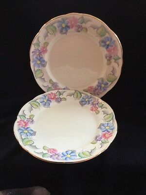 Foley China Two Side Plates