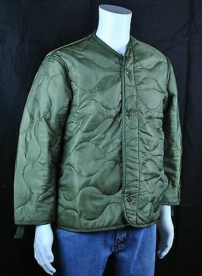US Army M-65 Cold Weather Coat Liner X-Large Unused NSN 8415-00-782-2890