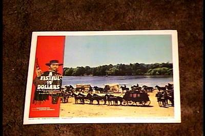 Fistful Of Dollars 1967 Lobby Card #7  Clint Eastwood Classic Sergio Leone