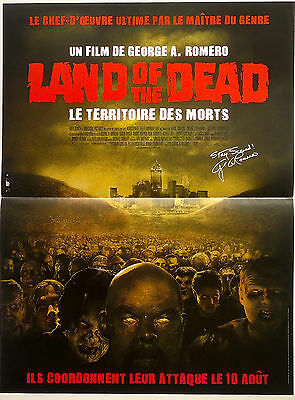 AFFICHE CINEMA 60 x 40 / LAND OF THE DEAD