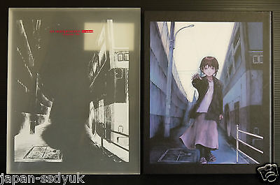Yoshitoshi ABe Art book Serial Experiments Lain oop