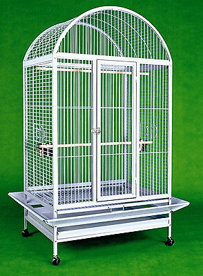 """Large Bird Cage Parrot Cages Macaw Dometop 36""""x26""""x65"""" African Grey Cockatoo"""