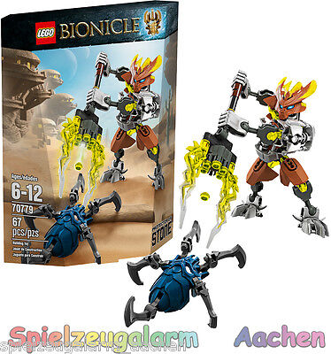 LEGO 70779 Bionicle Hüter des Steins Protector of Stone NEU 2015