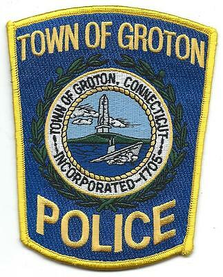 Groton Town Police Connecticut patch