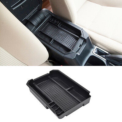 Fit For Toyota RAV4 2013 Armrest Storage Box Pallet Container Center Console Bin