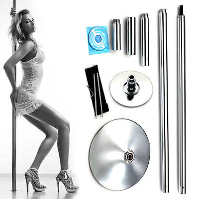 X-Dance 45mm Portable Dance Pole Kit Fitness Dancing Exercise Spinning